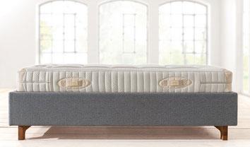 Bed Met Matras : Alles voor de eco slaapkamer natuurlatex matras het ecobed